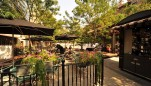 Rockville Town Square outdoor dining area