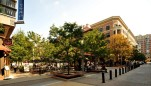 Rockville Town Square courtyard