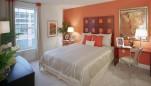 Palladian Apartments master bedroom